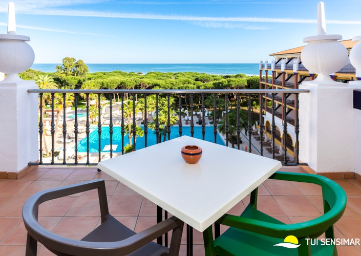 Double room sea view tui blue isla cristina palace hotel isla cristina, huelva, spain